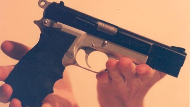 A pistol