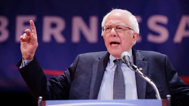 Sen. Bernie Sanders Of Vermont.