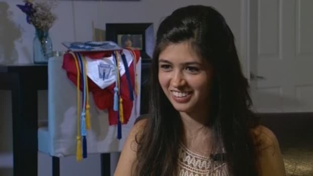Valedictorian Says She's Undocumented, Criticizes Trump Promo Image