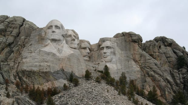 Mount Rushmore Has A Hidden Room Behind Lincoln's Face Promo Image