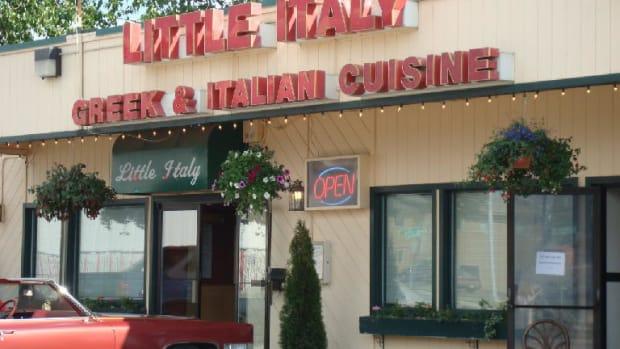 Little Italy Restaurante owner P.J. Gialopsos