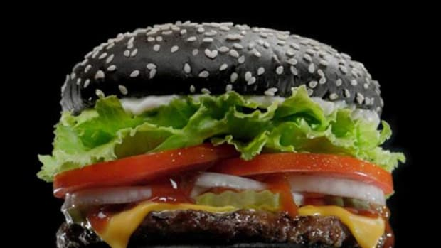 Burger King's Halloween whopper