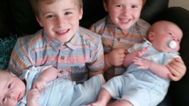 Noah Gilbert And His Siblings.