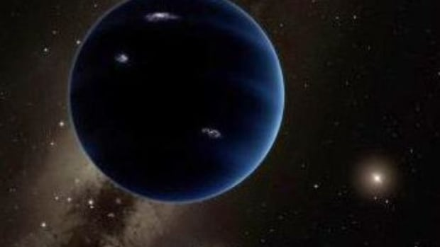 An Artist's Rendering Of Planet Nine