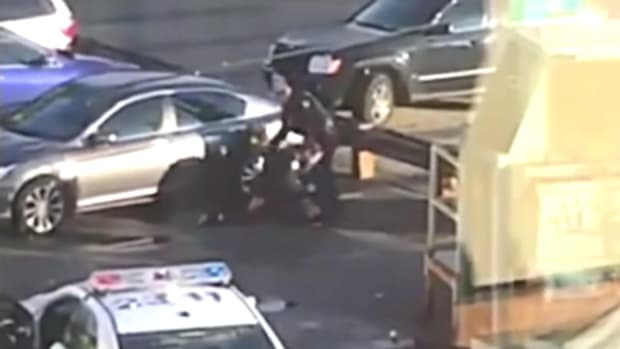 Canadian Police Beating