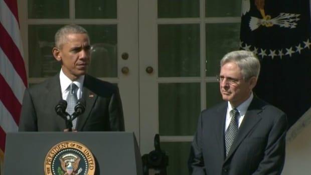 Obama Nominates Merrick Garland For Supreme Court (Video) Promo Image