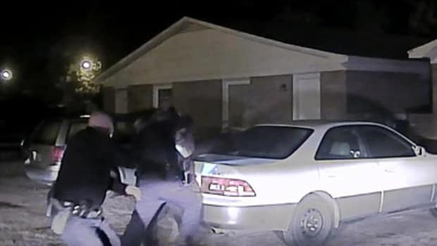 Video footage of shooting incident