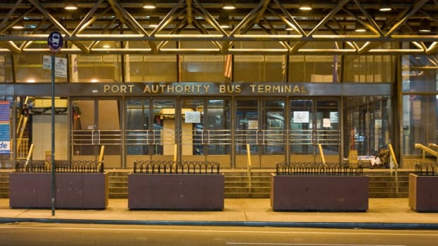 NYC Port Authority Bus Terminal.