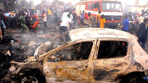 Boko Haram Bombing In Jos, Nigeria