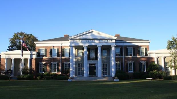 Sigma Alpha Epsilon Fraternity at University of Alabama.