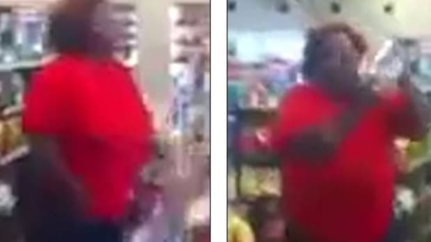Woman Destroys Convenience Store For Odd Reason (Video) Promo Image