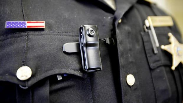 Body cameras worn by Oklahoma City police
