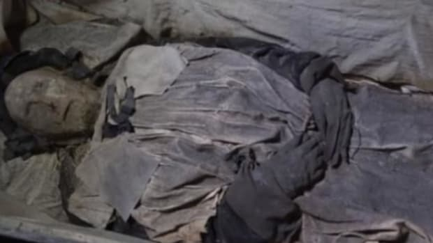 Researchers Make Stunning Discovery Inside Coffin Of Mummified Bishop (Video) Promo Image