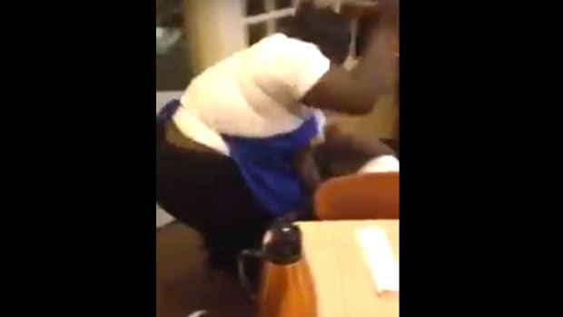 Baby In Middle Of Brawl At IHOP (Video) Promo Image