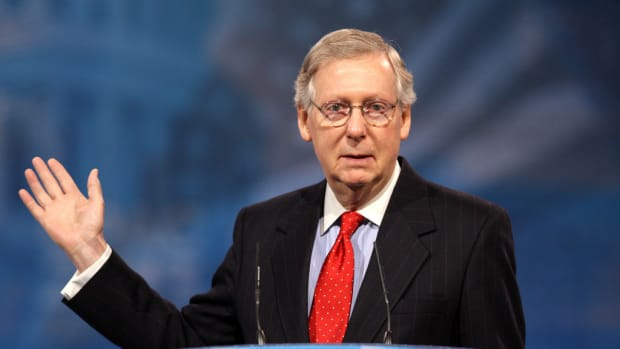 McConnell 'Open To Serious Suggestions' On Gun Control Promo Image