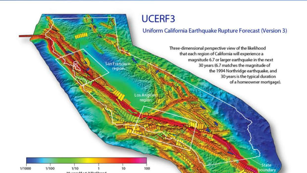 A controversial earthquake study has warned that the LA area has a 99 percent chance of being hit with a magnitude 5 or larger earthquake in the next 3 years, a certainty never reached before.