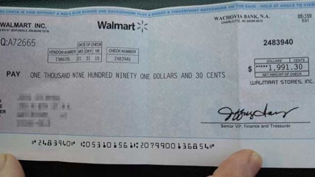 This fake check will drain your bank account