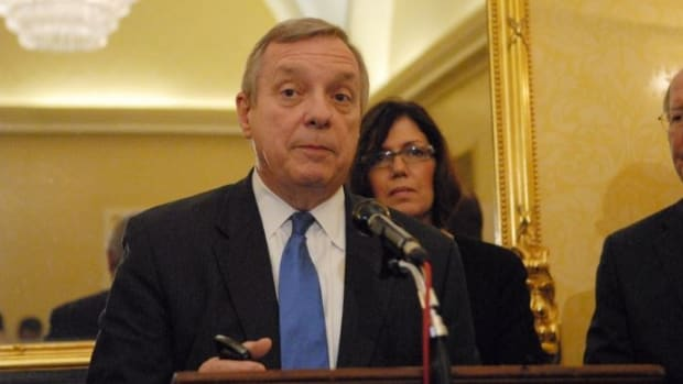 Durbin: Congress Could Be 'Complicit In Next Killing' Promo Image