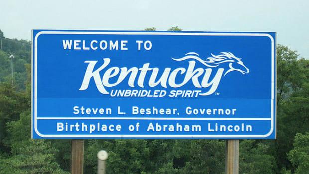 Kentucky Sign