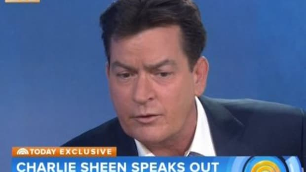 "Charlie Sheen on ""Today"" show"