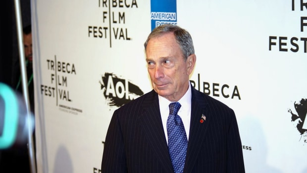 Former New York City Mayor Michael Bloomberg in 2011