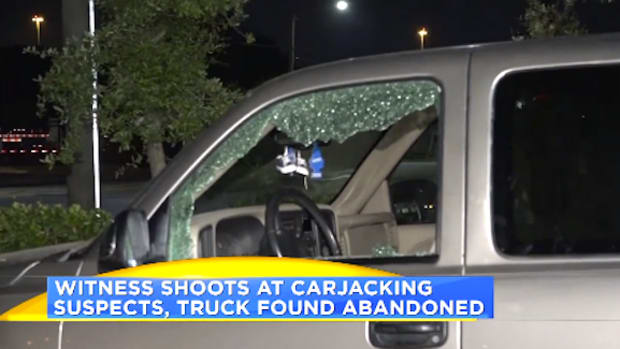 Man Shoots Carjacking Victim.