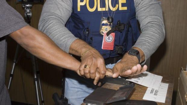 Fingerprinting.