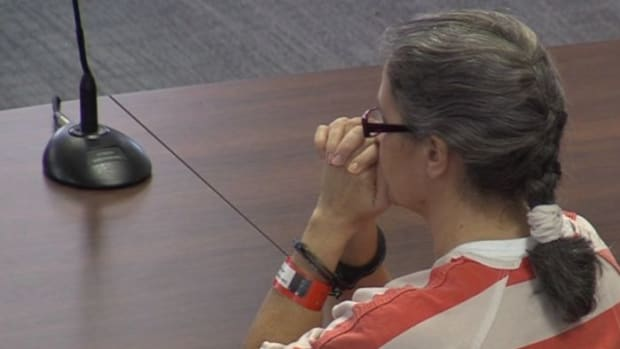 Diana Franklin in court