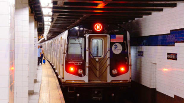 Cellphone Thief Hit By Subway Train Promo Image