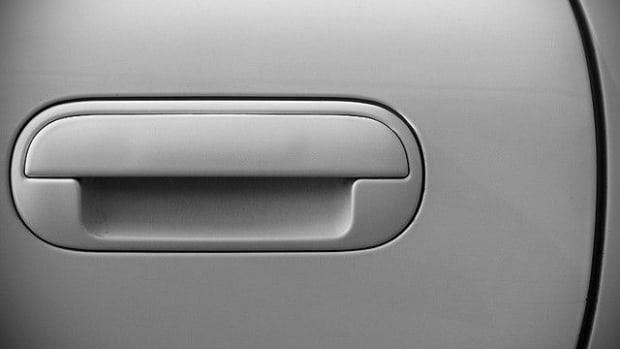 Car Door Handle.