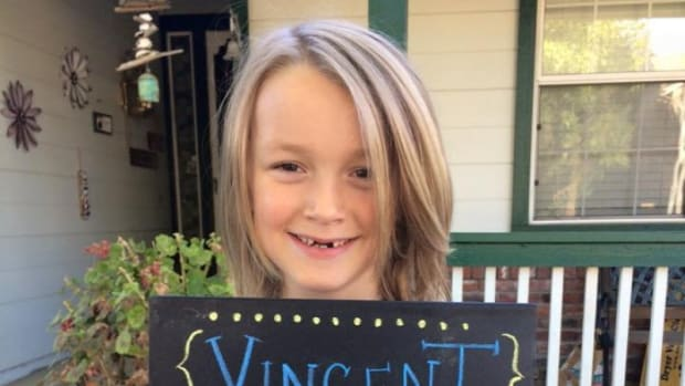 Cancer Diagnosis For Boy Who Donated Hair (Photos) Promo Image