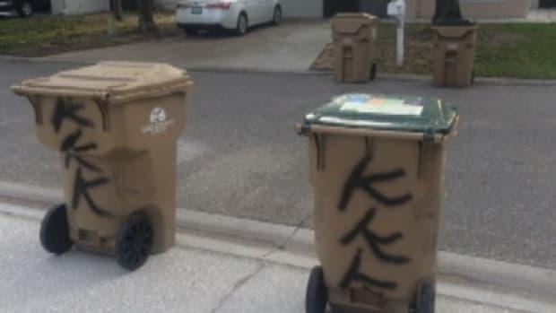 Man Writes 'KKK' On Neighbor's Property  Promo Image