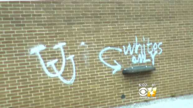 Police: Teens Arrested For Racist Graffiti (Video) Promo Image