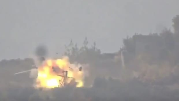 Syrian Rebels Russian Helicopter