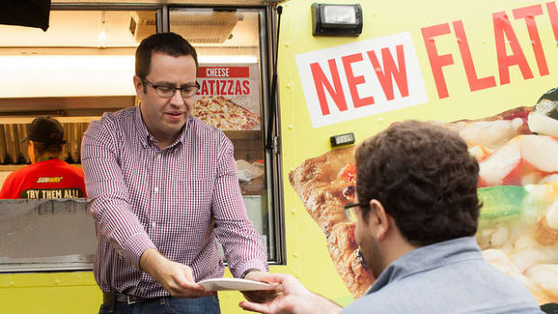 Ex-Subway Spokesman Jared Fogle Gains 30 Pounds In Jail Promo Image