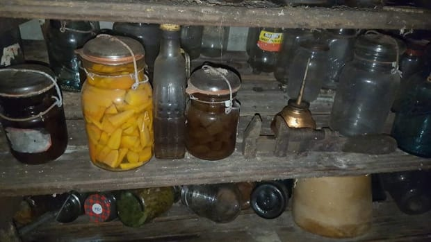 Woman Discovers Cellar With Antique Jars Inside (Photos) Promo Image