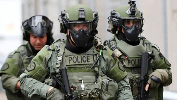 Police Swat members