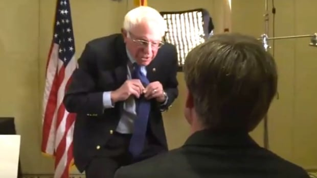 Sen. Bernie Sanders Walks Out Of Interview (Video) Promo Image