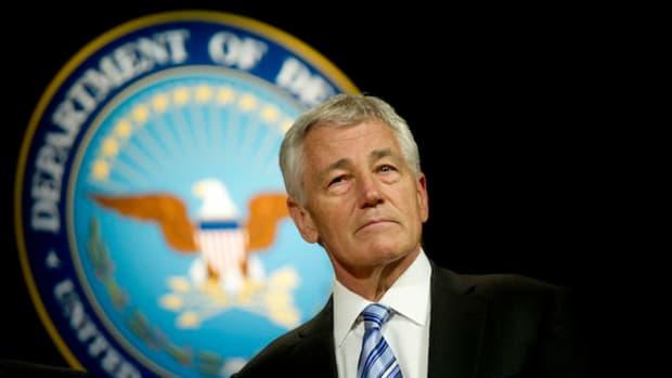 Former Defense Secretary Chuck Hagel