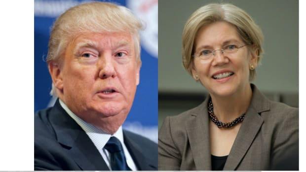 Warren Eyeing VP Run, Slams 'Thin-Skinned' Trump Promo Image