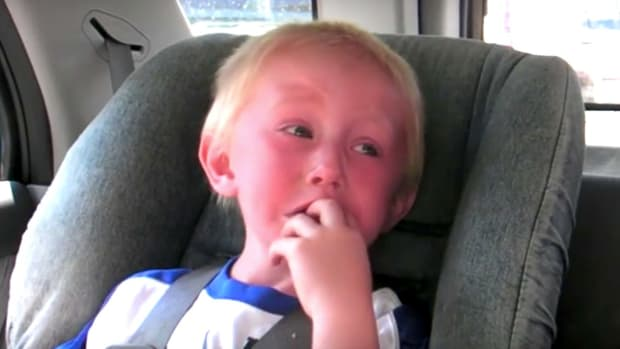Boy Is Scared Of Bear When GPS Says 'Bear Right' (Video) Promo Image