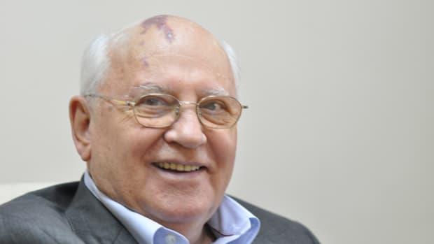 Former Russian President Mikhail Gorbachev.