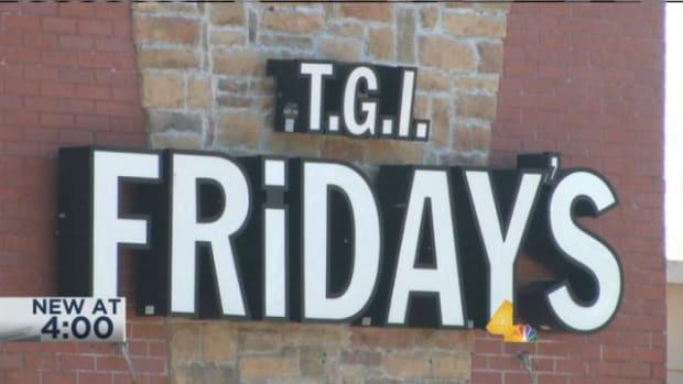 T.G.I. Friday's restaurant sign