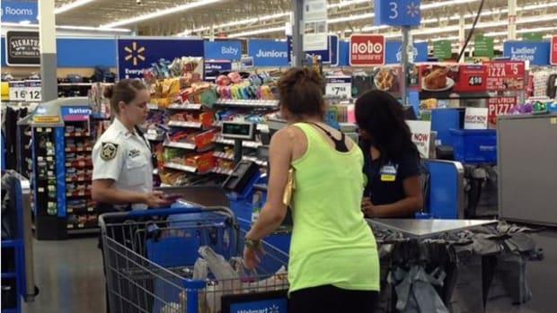 Deputies Buy Groceries.