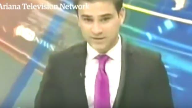 Afghanistan News Anchor
