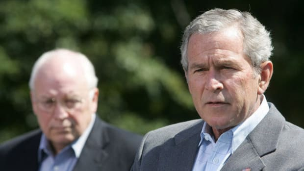 Former President George W. Bush and Vice President Dick Cheney.