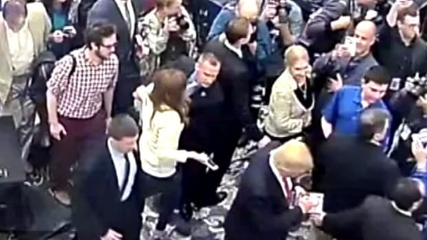 Trump Campaign Manager Charged With Battery (Video) Promo Image