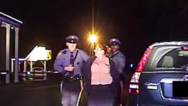 NJ Police Arrest Woman For Remaining Silent (Video) Promo Image