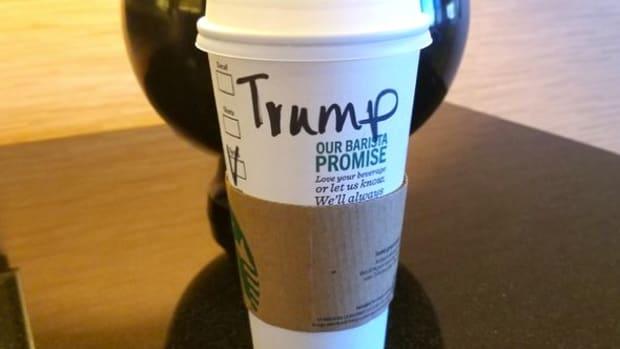 Scott Baio Tries To Make Starbucks Worker Say 'Trump' Promo Image