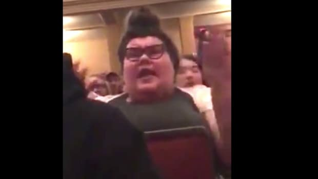 UMass Amherst Students Curse At Guest Speakers (Video) Promo Image